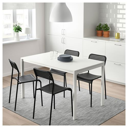 MELLTORP/ADDE,dining table and chairs