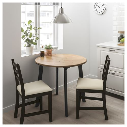 GAMLARED/LERHAMN,dining table and chairs