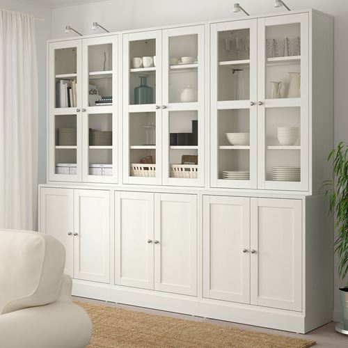 HAVSTA,glass-door cabinet