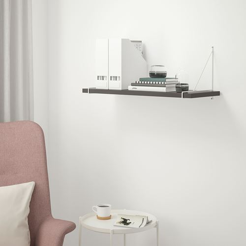 BERGSHULT/PERSHULT,wall shelf with brackets
