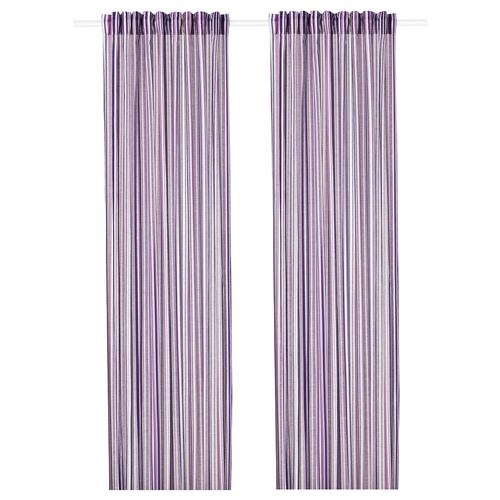 PRAKTKLOCKA,background curtain, 1 pair
