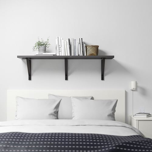 BERGSHULT/EKBY VALTER,wall shelf with brackets