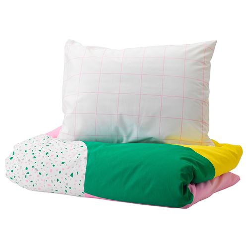 MÖJLIGHET,single quilt cover and pillowcase