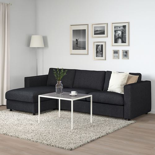 VIMLE,3-seat sofa bed with chaise longue
