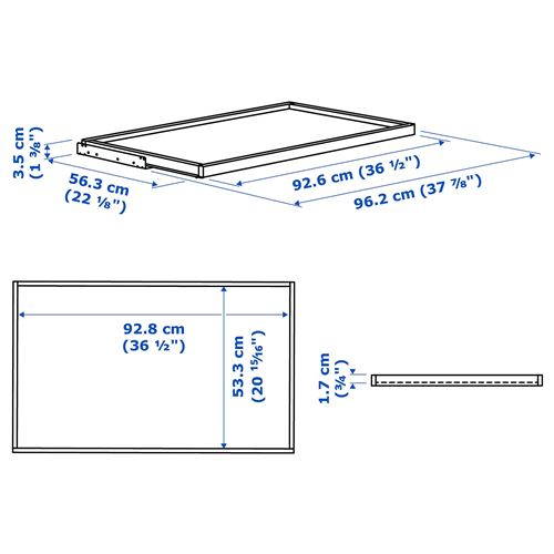 KOMPLEMENT,pull-out tray for wardrobe