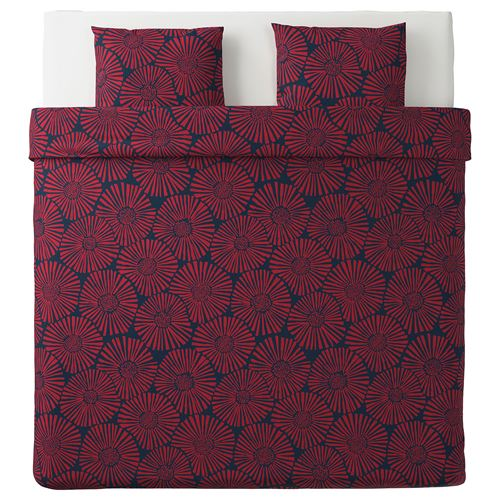 STJARNTULPAN,double quilt cover and 2 pillowcases
