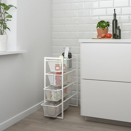 JONAXEL,shelving unit with drawers