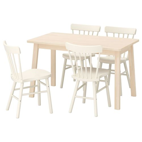 NORRAKER/NORRARYD,dining table and chairs