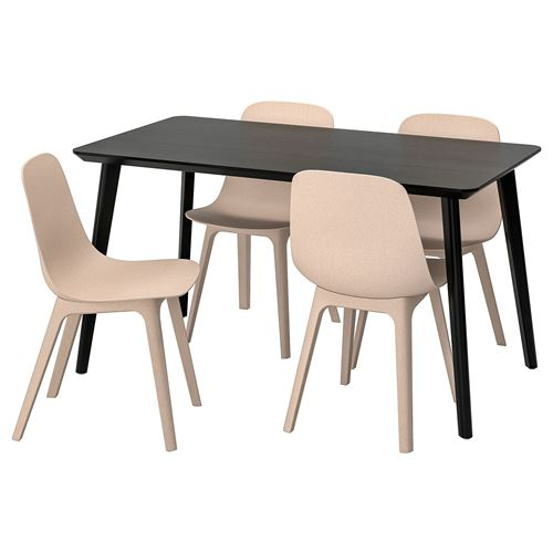 LISABO/ODGER,dining table and chairs