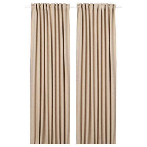 ANNAKAJSA,blackout curtain, 1 pair