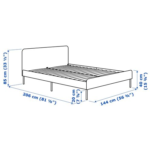 SLATTUM,double bed