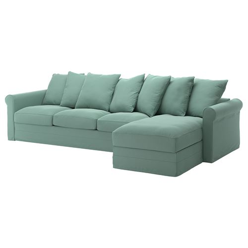 GRÖNLID,3-seat sofa and chaise longue