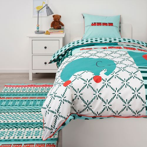 KAPPHAST,single quilt cover and pillowcase