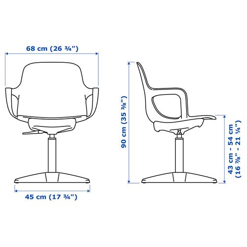 ODGER,swivel chair