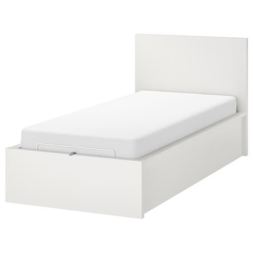 MALM,single ottoman bed