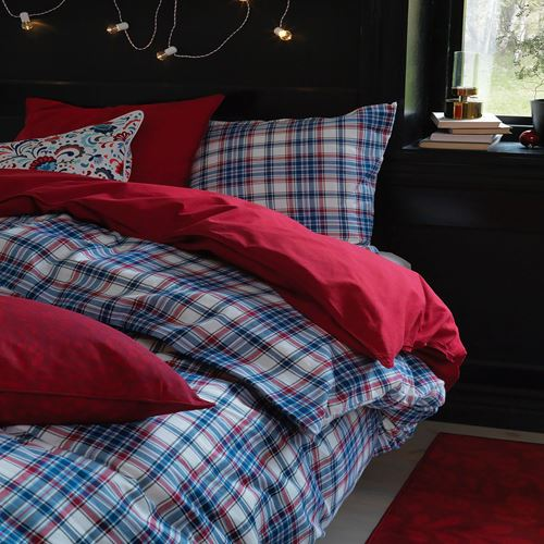 MOSSRUTA,double quilt cover and 2 pillowcases