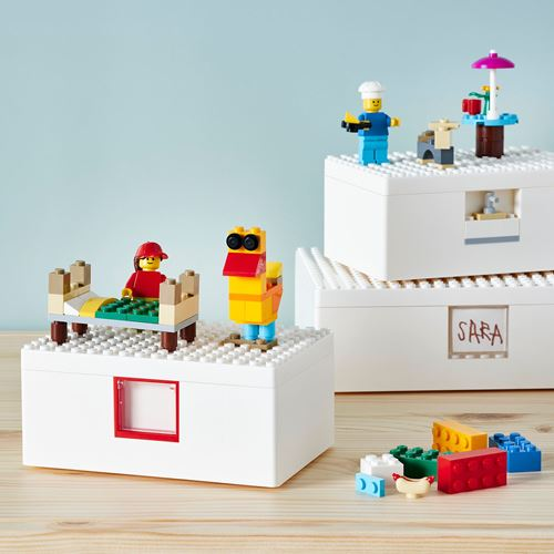 BYGGLEK,LEGO® box set with lid