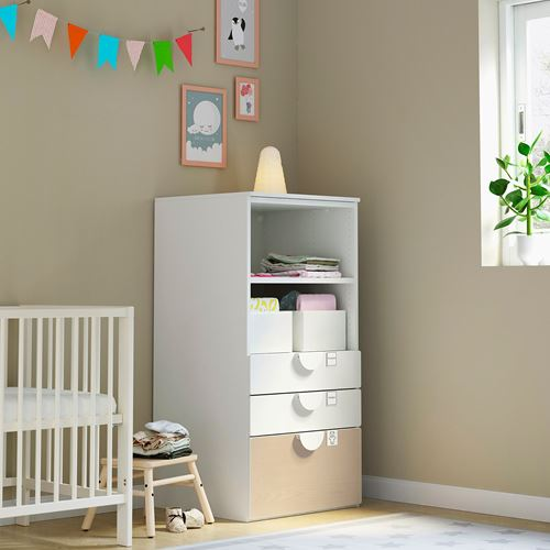PLATSA/SMASTAD,children's chest of drawers