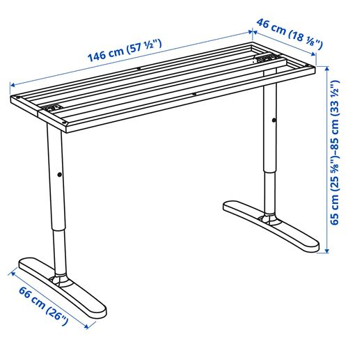 BEKANT,underframe for table top