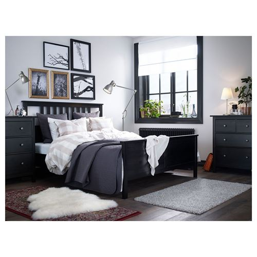 HEMNES/LURÖY,double bed