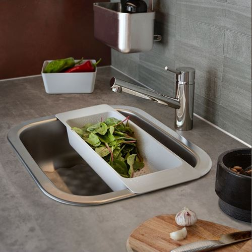 FYNDIG/LILLVIKEN,single-bowl insert sink