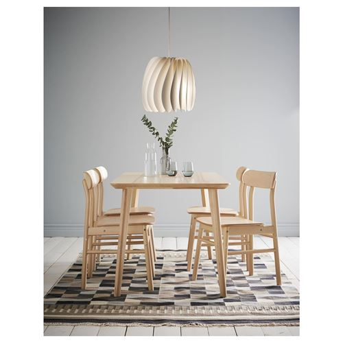 RÖNNINGE,dining table and chairs