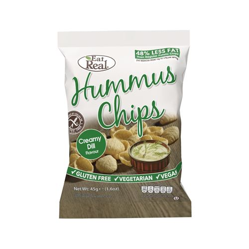 EAT REAL,chickpea chips